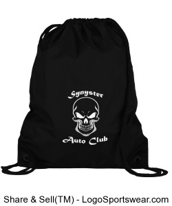 Synyster Auto Club Drawstring Bag Design Zoom