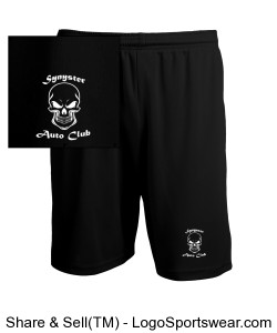 Synyster Auto Club Shorts Design Zoom